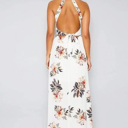 Fashion Sleeveless Printed Dress CX..