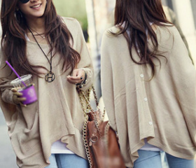Casual long-sleeved ..