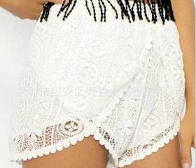 Irregular Lace Short..